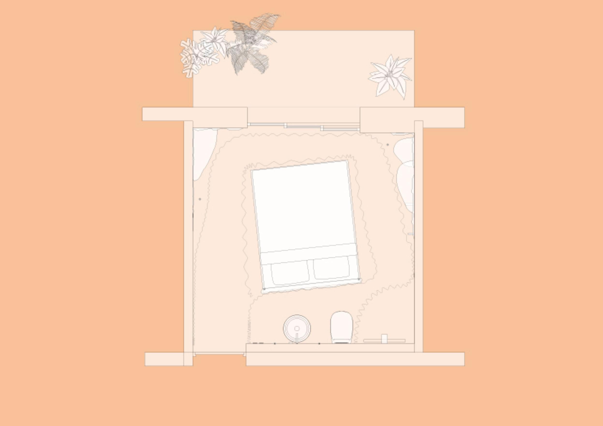 odd matter plan chambre